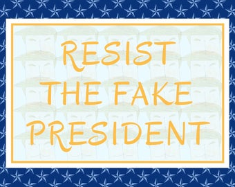 Anti Trump, Postcard Set, Planned Parenthood, Resist, Political Postcards, Protest Postcards, Feminist, Equality, Social Justice, Activist