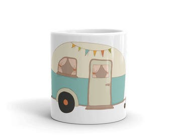 Home Sweet Home Canned Ham Travel Trailer Glamping Mug