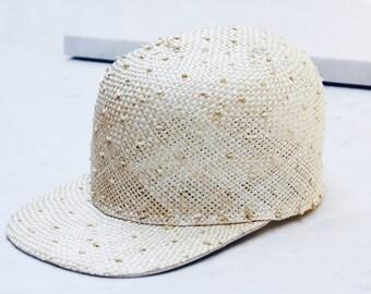 Sisal Straw Cap. Adjustable Cap. Fun Spring Fashion. Sisal Unisex Cap SS16