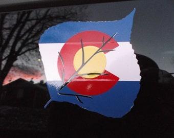 Colorado Vinyl Decal #10 (Aspen)