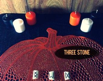 Trois Runecast Pierre — Livré en PDF