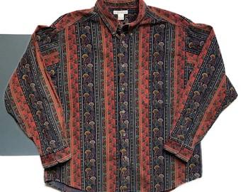 Vintage Clairborne Button Up