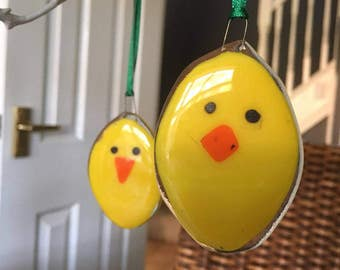 Easter Chick Tree Decorations  - Spring Chick  Ornament