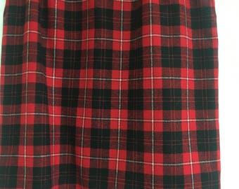 Vintage 80's Pendleton skirt.