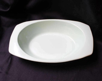 Melamine Oval Serving Bowl by PROLON Light Green