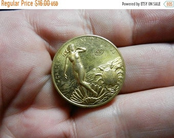 Spring Sale Vintage Cancer You Are Versatile Coin Token Medal  Part of Large Token Collection