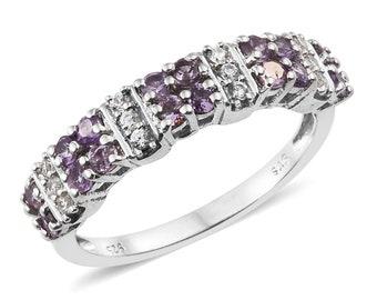 Mauve sapphire Ring - Size 7
