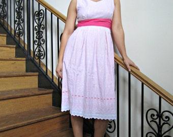 Sundress with Pockets, Modest Dress, Party Dress, Summer Dress, Pleated Skirt, Bridesmaid Dress, Maternity Dress - CUSTOM MADE in any fabric