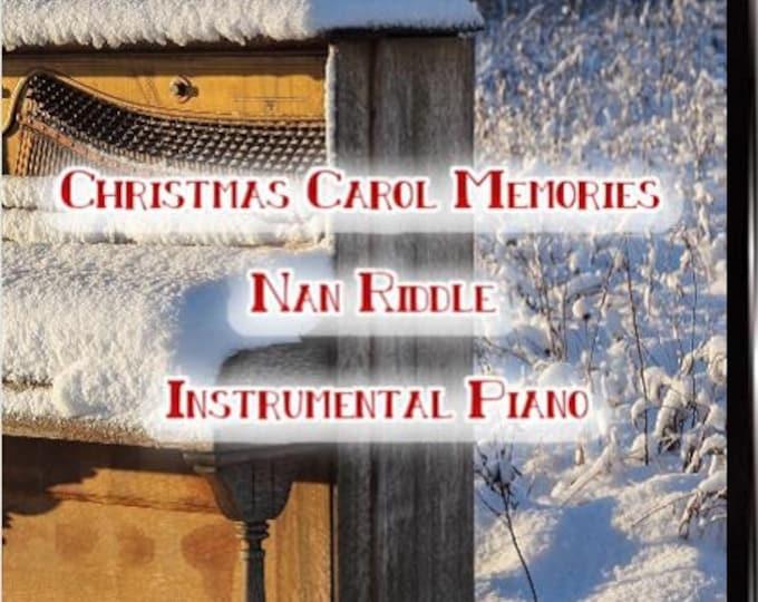 "Christmas Album DVD ""Christmas Carol Memories"""