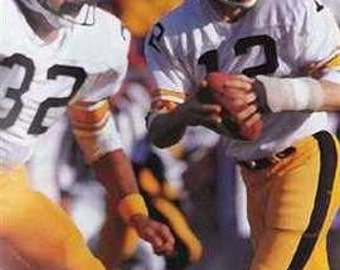 Early Terry Bradshaw Pittsburgh Steelers Art