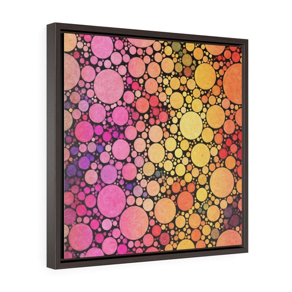 Sunset print on Premium canvas frames