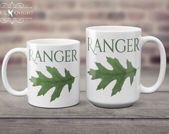 Ranger Oak Leaf - Ranger's Apprentice Coffee Mug