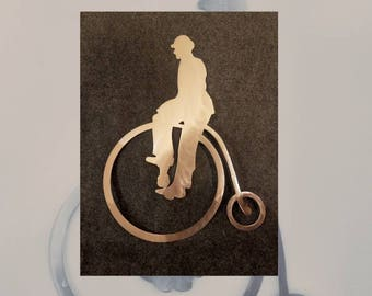 Penny Farthing Wall Hanging