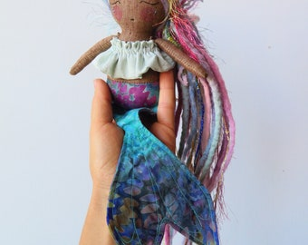 Tiny Mermaid Doll
