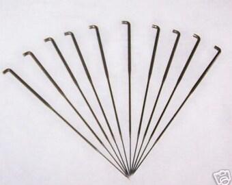 Set of 10 Felting Needles 36 Coarse