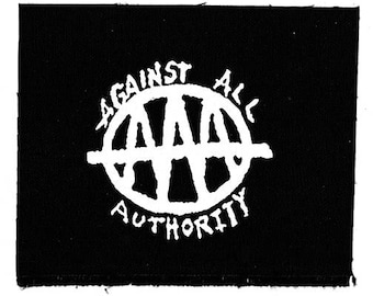 Against All Authority Band Patch