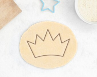 Crown Cookie Cutter – Princess Cookie Cutter Princess Tiara Cookie Cutter Fairy Tale Cookies Baby Shower Favor Princess Gift For Her King