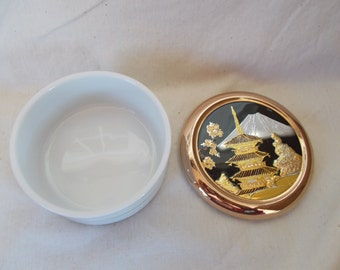 Vintage The Art Of Chokin Trinket Holder Dish