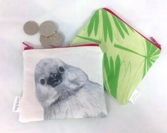Peekaboo Bird Coin Purse