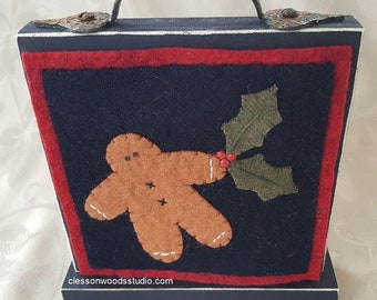 Gingerbread & Holly Block of the Month SET