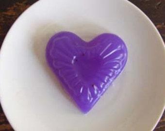 Purple Heart Glycerin CHAI  scented~  Om Goddess Soap!