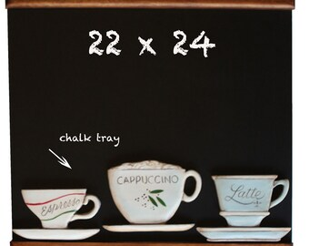 Coffee Cup Kitchen chalkboard