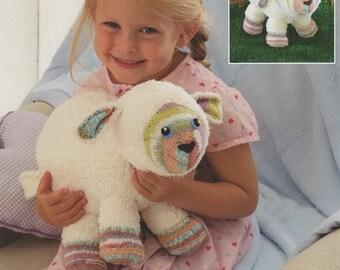 Sirdar (4610) Lamb Toy Knitting Pattern