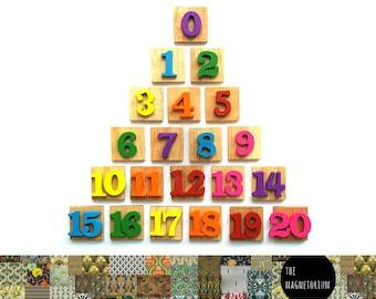 Number Character Alphabet Magnets [Fridge Magnets, Refrigerator Magnets, Magnet Sets, Office Decor, Kitchen Decor, Magnetic Board
