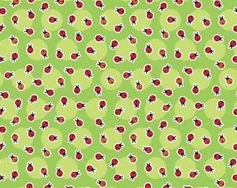 Anna's Garden Ladybugs by Patrick Lose Fabrics - Leaf 63797-8690715 Quilt Fabric