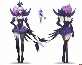 Dark lux league of legends cosplay