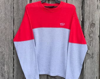 Vintage!!rare vans small logo Multicolor Sweatshirt