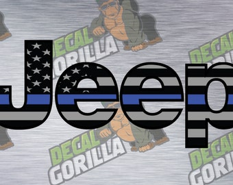 Jeep Logo Decal Etsy