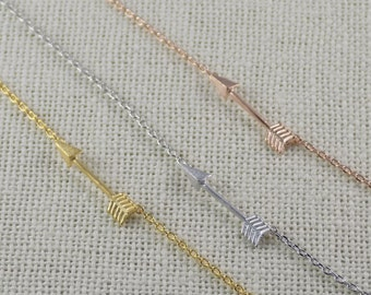 Arrow Necklace-Pi Phi-Gold Plated
