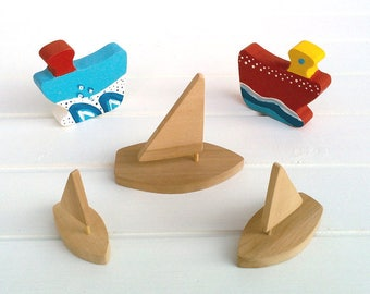 Wooden Toys - Sailing boat