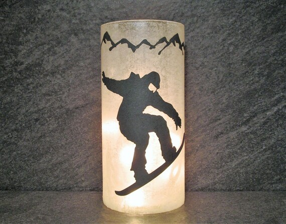 Snowboarder Light (Various Colors)