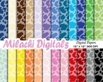 60% OFF SALE Cheetah print digital paper, animal print scrapbook papers, zoo wallpaper, safari photography background - M400