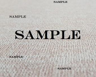 Stretch Fabric Sample Service