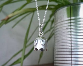 Pacman Ghost retro gamer jewelry