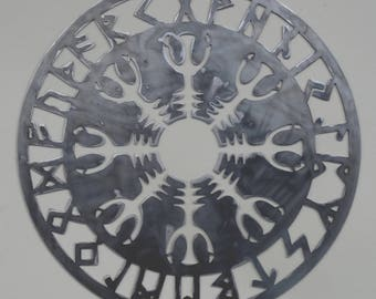 Helm of Awe Norse Viking Wall Art