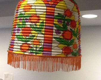 """paper lantern 1960's Hng Kong New old stock """"CC"""""""