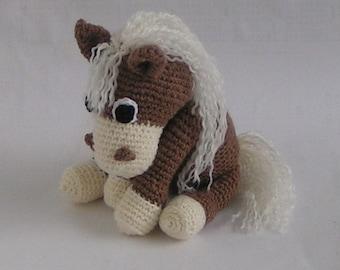 "Horse ""Samy"" crochet Pattern"