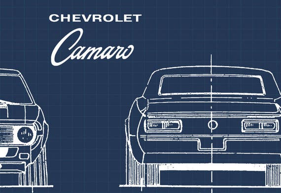 Chevrolet camaro blueprint chevy camaro blueprints camaro chevrolet camaro blueprint chevy camaro blueprints camaro garage art instant download camaro gift automotive blueprint 8x10 11x14 malvernweather Gallery