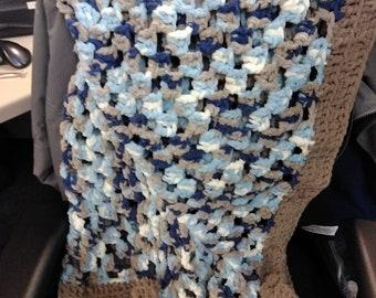 Granny Square Baby Blanket 5x5ft