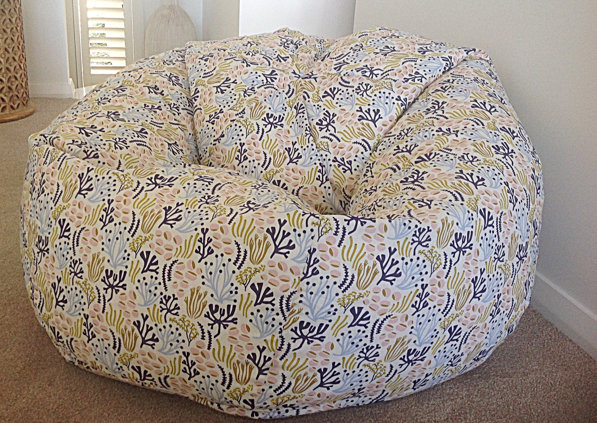 Bean Bag Kids Organic Cotton Cover And Liner