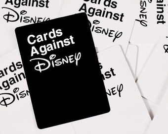 Cards Against Disney - Digital Download - Available Instantly To Print & Play!