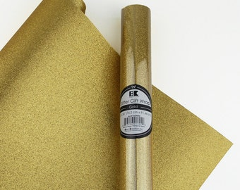 Glitter Wrapping Paper - 10 Colors