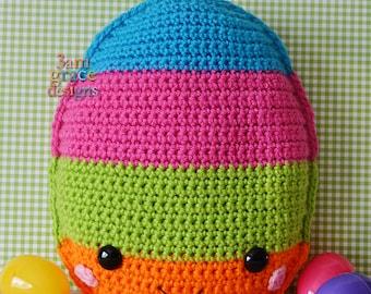 Easter Egg Kawaii Cuddler™ Crochet Pattern
