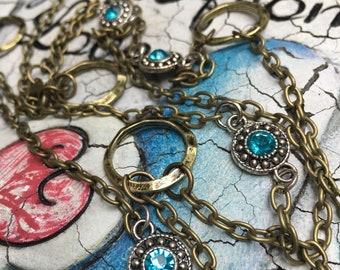 Sea Mist Long Necklace