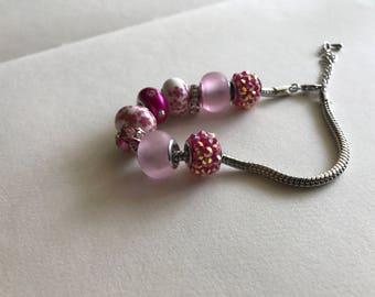Cherry blossom bracelet