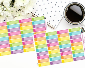 Planner Stickers | Appointment Reminder Stickers| For use in a variety of planners|AL001 Vertical/Horizontal and Hourly Sizes Available
